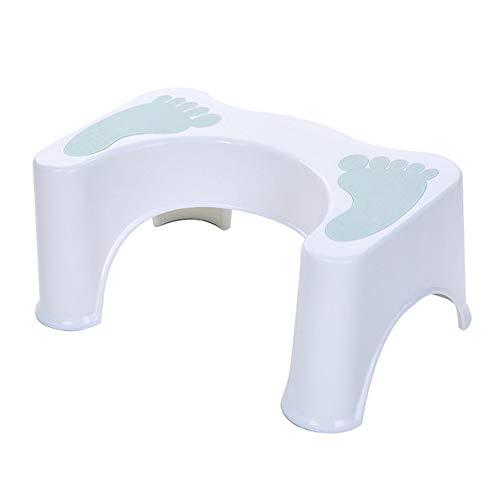 YAYGODトイレ踏み台 ステップ 子供 トイレトレーニング 便座 補助台 キッチン第二代 高さ約21cm … (ブルー足跡)