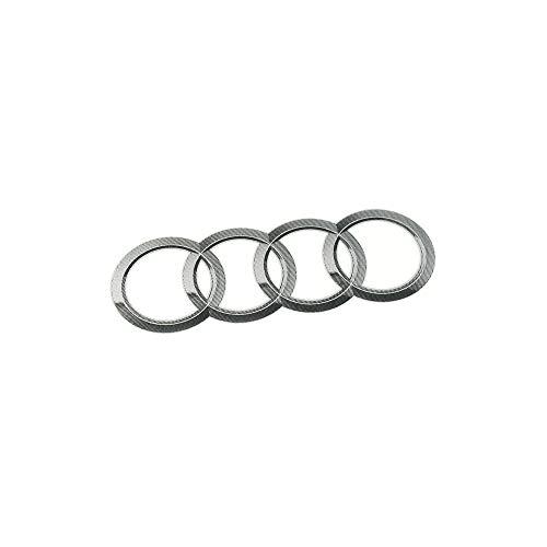 Audi 8R0060306 Ringe Emblem Logo Aufkleber Sticker Kennschild 95x56mm