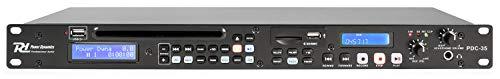 GRABADOR REPRODUCTOR PARA RACK POWER DYNAMICS PDC-35 CD/USB/