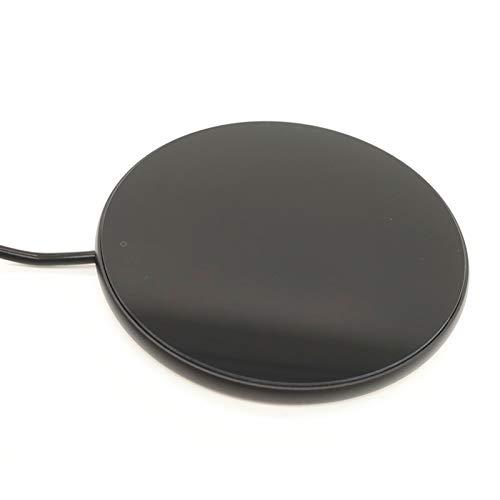 MANTFX Calentador De Tazas De Café Portátil, Calentador De Carga USB, Almohadilla para Calentador De Tazas, Almohadilla Eléctrica para Calentar Tazas para Mantener Caliente El Café (Negro)