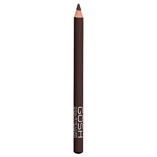 GOSH Kohl/Eyeliner & Kajal 2 in 1 Schminkstift | auch als Lidschatten geeignet | mit pflegendem Vitamin E | einfaches Auftragen auf oberes & unteres Augenlid | vegan & parfümfrei | Espresso