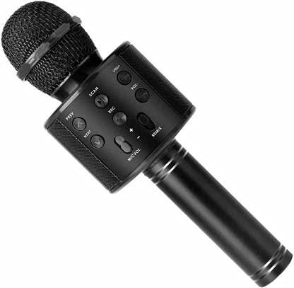 Stybits Heavy Microphone 3-in-1 Portable Handheld Karaoke Mic|Speaker for Android|iPhone|PC or All Smartphone|Handheld Wireless Microphone Mic| COLOR MAY VARY
