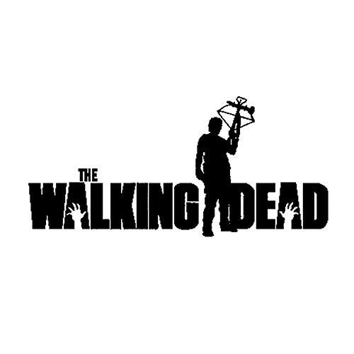 Karosserie Auto Aufkleber Cartoon 15,5 Cm * 7,2 Cm The Walking Dead Daryl Mit Armbrust Aufkleber Und Abziehbilder Wandtattoo Kinderzimmer Wandaufkleber Schlafzimmer