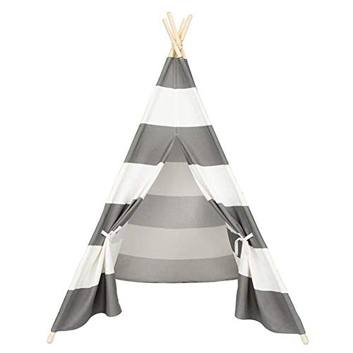 Buy Discount Kids Play Tent Children Teepee Tent Small Play House Dome 65 x 47.2 x 43.3 Inch Canvas ...