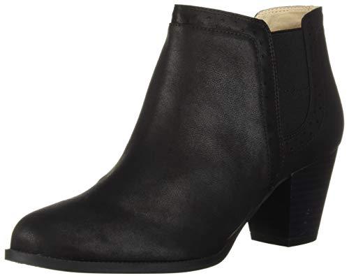 LifeStride Women's James Ankle Boot, Black, 8 M US