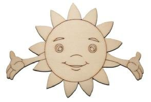 SPH-goupilles en forme de soleil est gravé