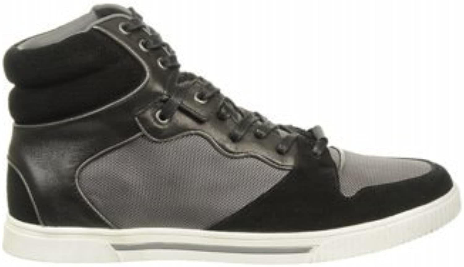 Kenneth Cole Reaction Men's Jump The Fence Sneakers (11.5, Black)