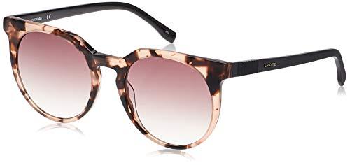 Lacoste L889S Acetate Gafas de Sol Havana/Rosa Unisex Adulto, Multicolor, Standard