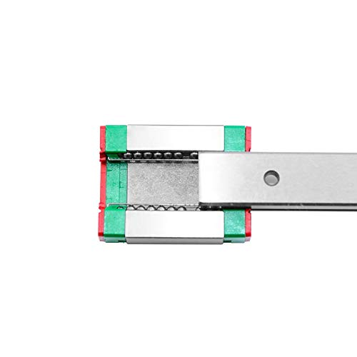 QXYOGO Linear Rail Miniature Linear Rail Slide 1pcs MGN Linear Guide MGN Carriage CNC 3D Printer 1 (Color : MGN9C, Guide Length : 200mm)