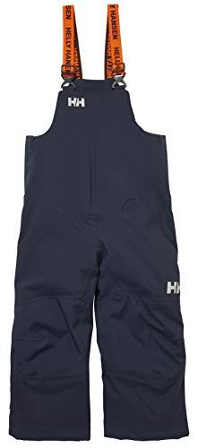 Helly Hansen Kids & Baby Rider 2 Bib Waterproof Insulated Winter Snow Pant Overalls, 597 Navy, Size 12