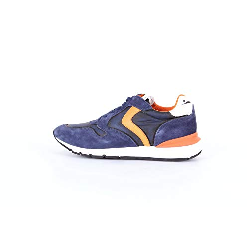 VOILE BLANCHE Liam Race-Sneakers Uomo Blu 44