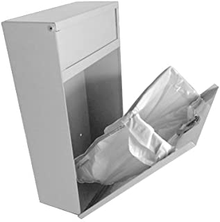 Sanitary Napkin Disposal Bin Tampon Receptacle, Steel