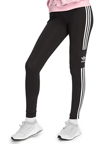 adidas Damen Trefoil Tights, Black, 38