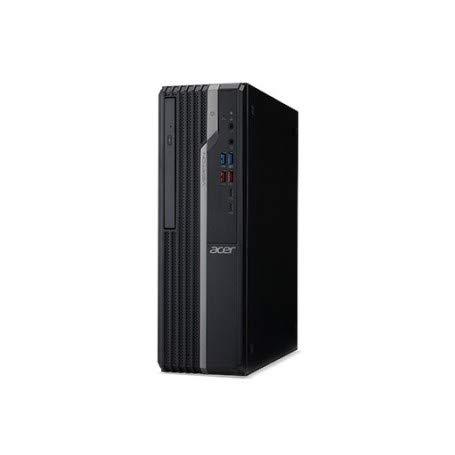 ACER Ordenador de sobremesa Veriton x2 vx2665g Intel Core i3-9100 Quad Core 3.6 GHz RAM 8 GB SSD 256 GB 2 x USB 3.0 2 x USB 3.1 Windows 10 Pro