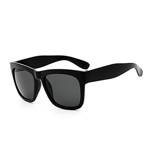 Zhou-YuXiang 8235 Nuevas Gafas de Sol Deportivas de Moda Gafas de Sol de película de Color Cuadrado Diseño de Marca de Lujo con Espejo de Color de Personalidad
