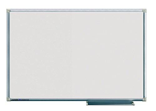 Legamaster 7-102743 Whiteboard Economy Plus, emaillierte, kratzfeste Oberfläche, magnethaftend, 90 x 60 cm