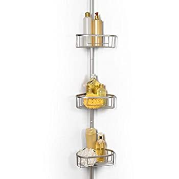 Best totally bath tension pole shower caddy Reviews
