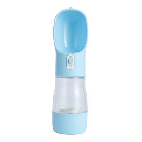 EasySMX Botella de agua portátil para mascotas , bebida...