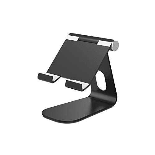 Wowlela Tablet Stand, Adjustable Tablet Holder - Foldable Desktop Stand Mount Dock for iPad Air iPad Mini iPad Pro Samsung Tab iPhone Other Tablets