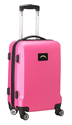 Save %82 Now! NFL San Diego Chargers Carry-On Hardcase Spinner, Pink