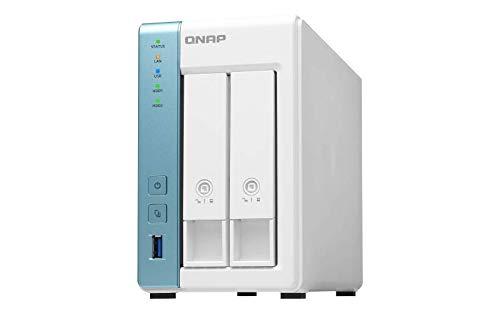 QNAP TS-231K 2 Bay Desktop Netzwerkspeicher-Gehäuse