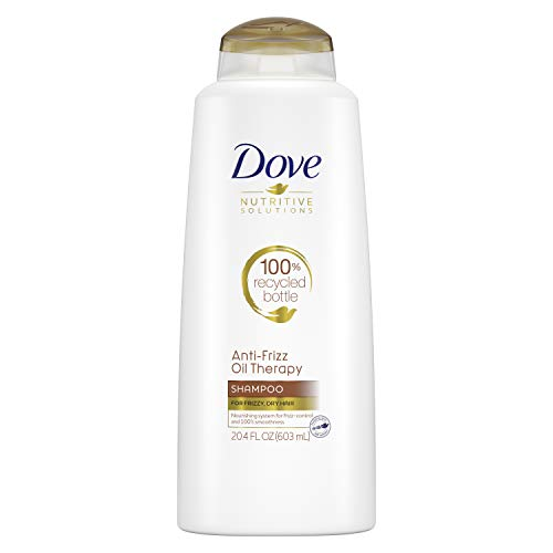 Dove Nutritive Solutions Shampoo Anti-Frizz Oil Therapy 20.4 oz