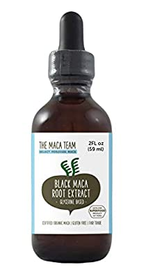 Black Maca Extract - 2 Fl Oz 59 Ml -Fair Trade, Gmo Free, Alcohol Vegan Made From Organic Roots Grown Traditionally In Peru from The Maca team