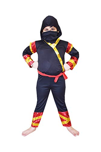Fancy Steps Ninja Fancy Dress Costumes pls See The Size in dropdown (4to6yrs)