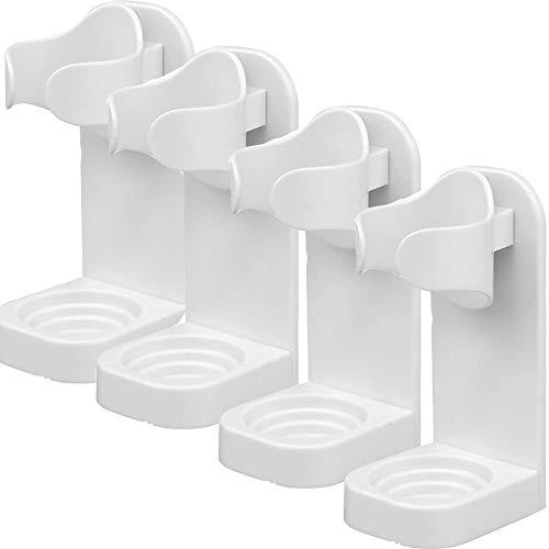 Lilon 4 soportes adhesivos para cepillo de dientes eléctrico, soporte de pared,...