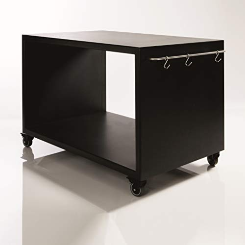Morsoe Grill-/ Gartentisch groß, 120 x 77 x 60 cm, schwarz
