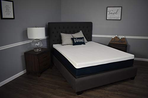 Read About Made in The USA 10 Graphite Infused Memory Foam Mattress Sleeps Cooler (Queen)