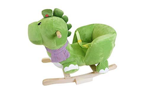 Knorrtoys 40481 – Schaukeltier Dino Olaf mit Sound - 3