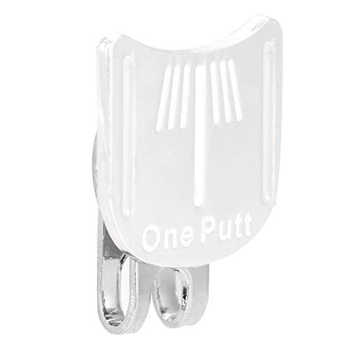 Dwawoo Golf Hut Clip, niedliche Form Metall Mini Magnetic Golf Ball Marker Hut Clip für Golf Training(4#)