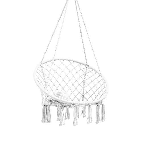 MYXMY Balancez Fauteuil Suspendu Accueil Intérieur Cradle Lazy Président Ins Chaise Net Rouge Hanging Dortoir Chambre Enfants Outdoor Hanging Panier
