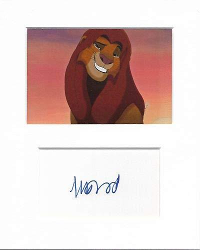 Matthew Broderick el Rey León Auténtico firmada a Mano autógrafo Firma y Foto AFTAL