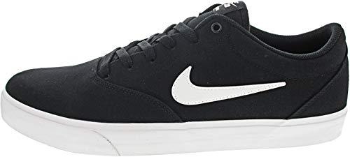 Nike Unisex Sb Charge Solarsoft Running Shoe, Black/White, 44 EU