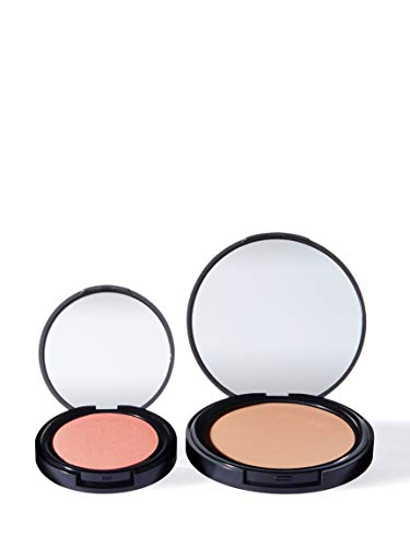 Amazon Brand - find. Face Kit - Sunkissed Radiance Light (Bronzer no.1 and Blush no.1)