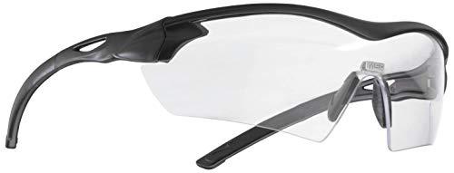 MSA Safety Racers 10104614 EN166 - klare Schutzbrille mit Mikrofaserbeutel und Kordel