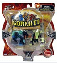Gormiti Series 1 Action Figure 2-Pack - Tongs the Terrible & Earthshaker