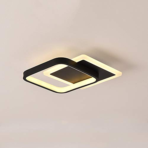 GLBS Corredor Downlight 24W LED Cuadrado De Pasillo Norte De Europa Sala De Estar Habitación Recepción De Techo Luz del Panel De Acrílico del Arte del Hierro Negocio Casero Iluminación Empotrada