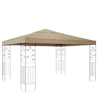 Quick de tejado para Carpa (Star Repuesto para Hojas Cenador (3x 3m Arena para Almohada