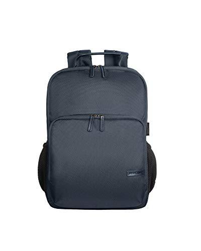 Tucano - Free & Busy Zaino Business Compatibile con MacBook PRO 16' e Laptop 15.6', Tessuto Tecnico e Ecopelle