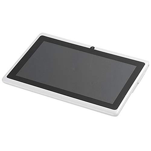 tablet PC de 7 Pulgadas Smart Android PC Soporte Bluetooth Tarjeta TF Espacio de expansión Batería de Gran Capacidad Cámara HD Frontal y Trasera