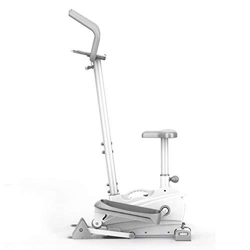 UIZSDIUZ Máquina elíptica Hogar silencioso Correr Cinta de Correr Piernas Slim Beauty Slimming Instrument Ellíptico Space Machine