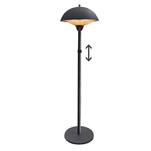 ZRXRY Electric Patio Heater 2100W, Table Lamp Type Waterproof Independent Outdoor Heater, Quiet Operation, Overheat Protection