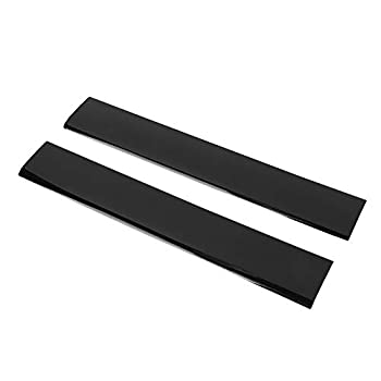 Esenlong Replacement Left Right Faceplate Cover Shell Case for PS3 Slim Console Right Replacement Cover Black
