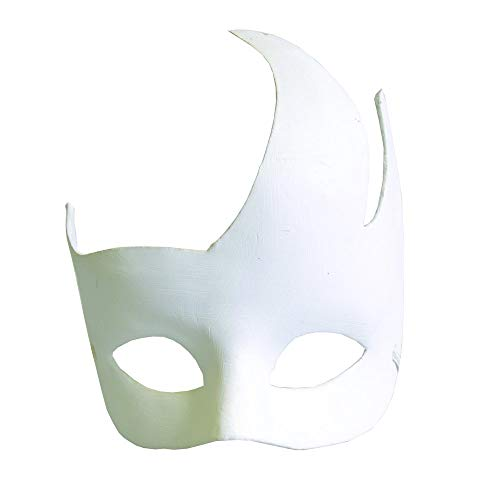 Artemio vlammen gips masker ter decoratie