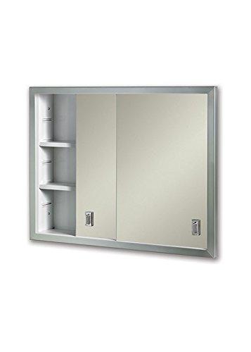 "Jensen B704850X Sliding Doors Medicine Cabinet, 24"" x 19.25"""