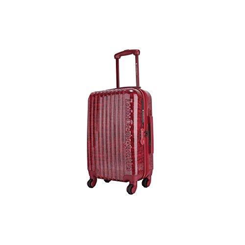 LuluCastagnette 15788/48 RED Tranvía ABS sintéticos Rojo bolsa de equipaje - Bolsa de viaje (33 cm, 23 cm, 48 cm, 2,5 kg, Rojo)