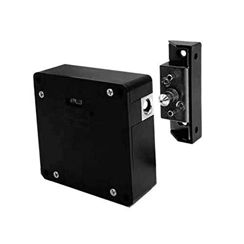 Lopbinte Cerradura electrónica inteligente del gabinete del RFID Ningún agujero Instalación fácil Muebles Armario Armario zapato Gabinete cajón cerradura de puerta con dos tarjetas/etiquetas clave